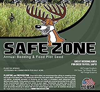 Horny Buck Food Plot Seed - Safe Zone Blend Mix