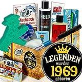 Zum 50. Geburtstag Geschenkset / Pflege Set DDR für Männer / Legenden 1969