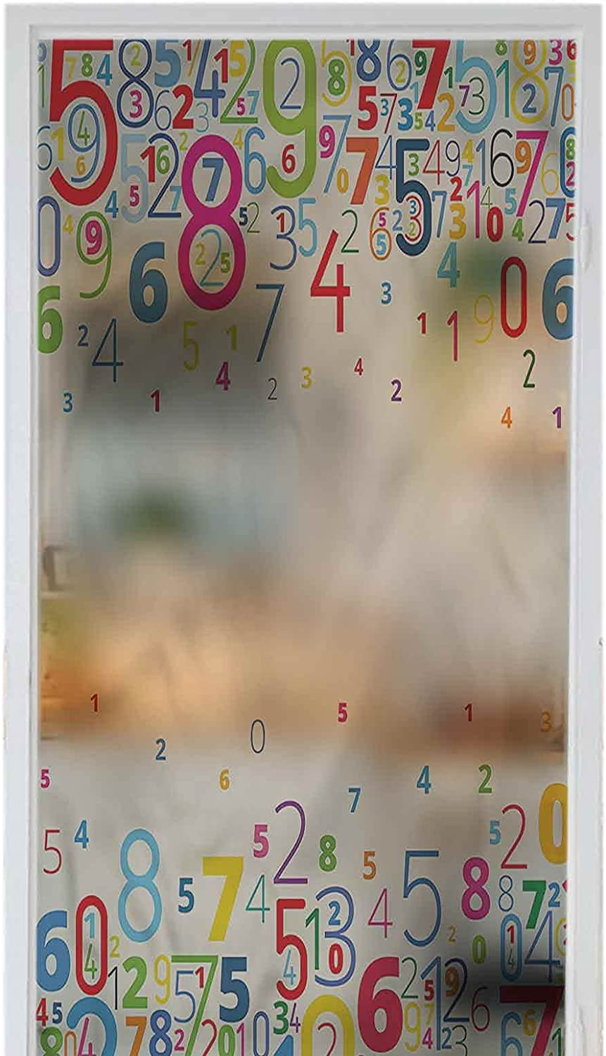 Homesonne Opening large release sale Window Privacy Film Vinyl Static store Self-Adhesive