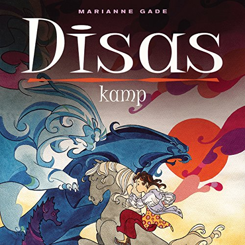 Disas kamp audiobook cover art