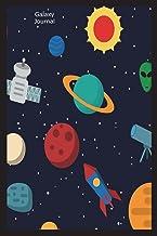 Galaxy Journal: Alien Graphic Design Novelty Gift Notebook for Kids