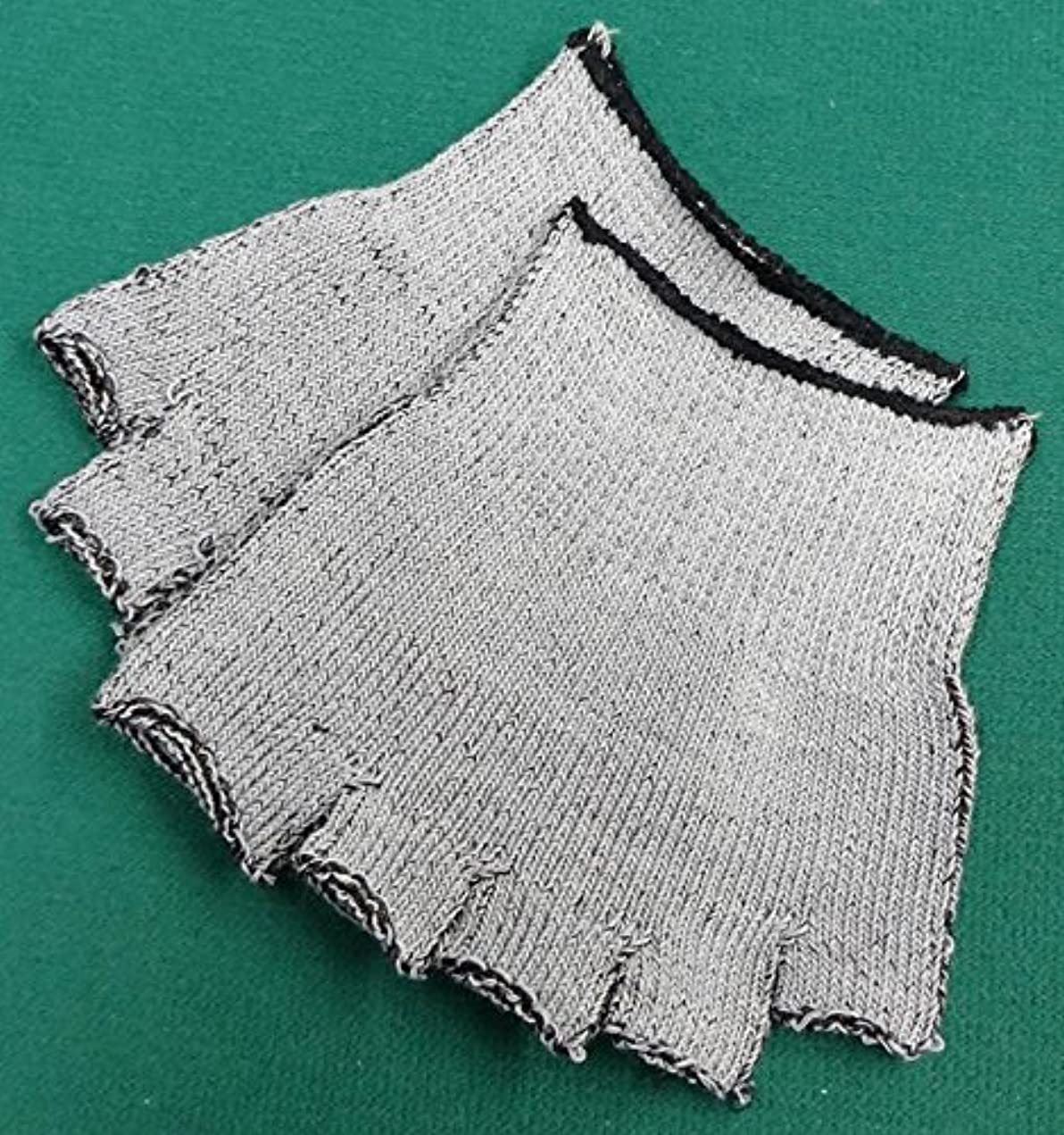 接辞識字リボン銅繊維入りハーフソックス (6枚(3足セット))