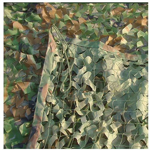 Parasol multiusos, red de camuflaje para exteriores, visera para el sol, doble protector solar, toldo para fotografía de niños, avistamiento de pájaros, caza, tiro, camuflaje oculto, red de AI LI WEI, color Jungle, tamaño 6X8M, 0.01