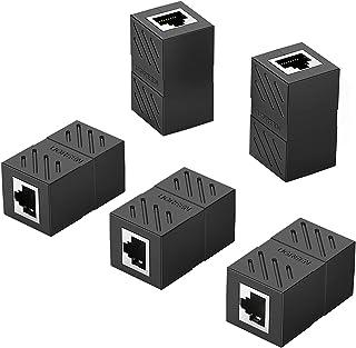UGREEN RJ45 Koppeling Extender Ethernet Connector voor Ethernet Kabel, Lan Kabel, Verlengkabel, 8P8C Netwerkkabel RJ45 Kop...