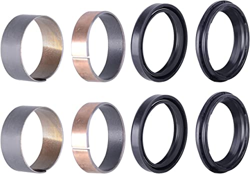 wholesale Mallofusa sale Front outlet sale Fork Seals Rebuild Kit Oil Dust Bushing Replacement for Yamaha WR250F 450F YZ125 YZ250 YZ250X YZ250F YZ250FX YZ450F YZ450FX online sale