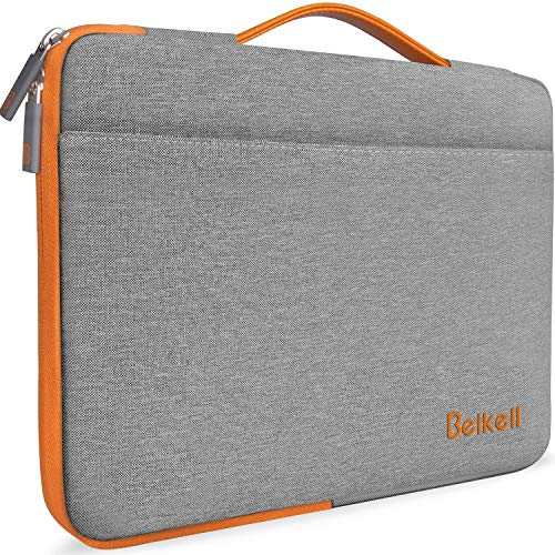 Laptop Sleeve, Beikell 13.3-Inch Macbook Air/Macbook Pro Retina Sleeve Case Cover - Waterproof Shock Resistant Protective Bag Carrying Case for 13-13.3 Inch Laptop Notebook with Accessory Pocket