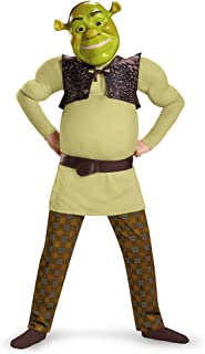Shrek Classic Muscle Costume, Small (4-6)