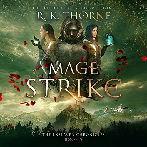 Mage Strike audiobook cover art