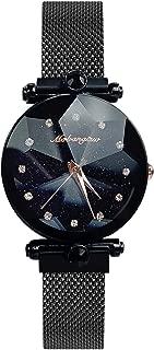RORIOS Mujer Relojes de Pulsera Brillante Cielo Estrellado