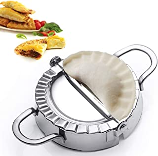 Best Utensils Stainless Steel Ravioli Mold Pierogi Dumpling Maker Wrapper Pastry Dough Cutter Kitchen Accessories (S: Dia....