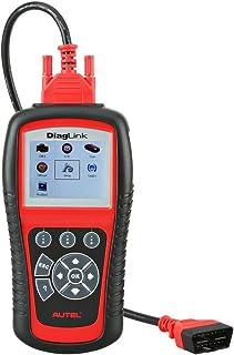 Autel DiagLink (versión DIY de MD802 con una Marca de vehículo) Herramienta de Diagnóstico Completo Multimarca (Motor, Transmisión, ABS, Airbag con Reset Servicios Aceite y Frenos)