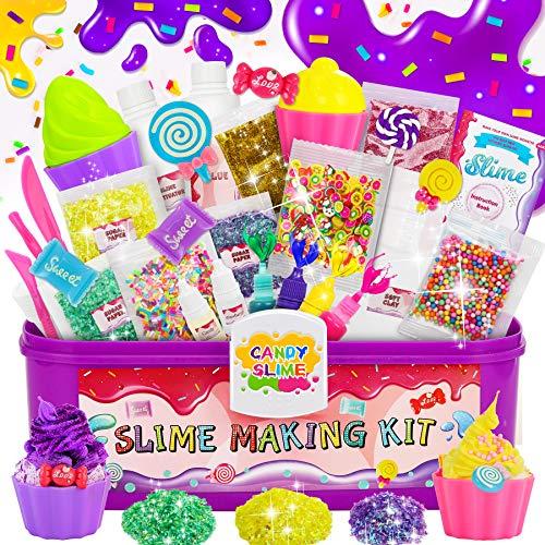 LETOMY Kit de Slime, DIY Slime Set, Slime Kit, Original Stationery Slime con Activador de Arcilla, Slime para Niñas Edulcorante, Regalo para Niñas y Niños en Fiesta