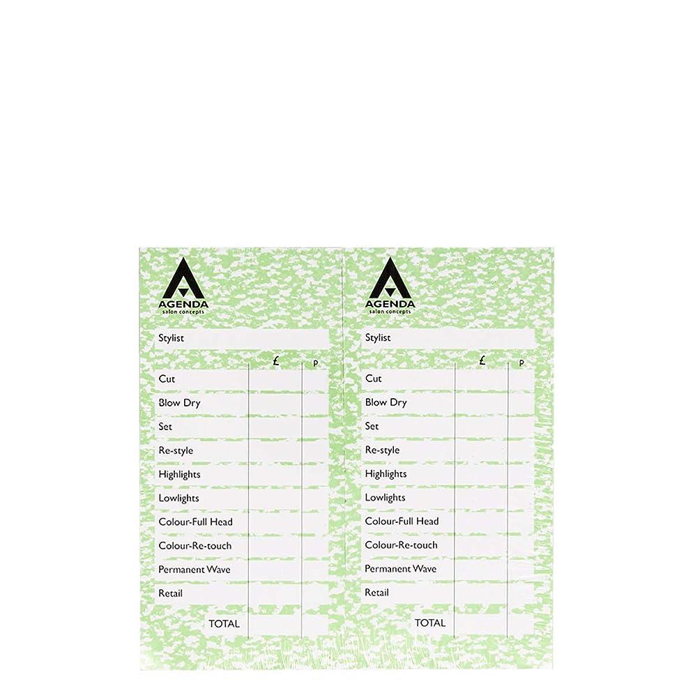 残基イチゴ画像アジェンダ サロンコンセプト チェックパッドグリーン12x100リーフ[海外直送品] [並行輸入品]