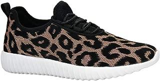 Women's Leopard Tennis Sneakers | Zebra Snake Jogger Walking Lightweight Sneakers
