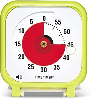 Time Timer Original 3 inch; 60 Minute Visual Timer – Classroom Or Meeting Countdown Clock for Kids and Adults (Lime Green)