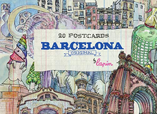 Barcelona original - 20 Postcards (Postcard Book)