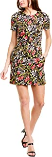 French Connection womens Women's Floral Printed Short Sleeve Dress Dress
