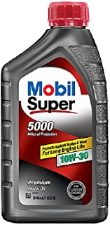 Mobil 120431-6PK Super Duty Engine Oil (10W30 6/1Qt)