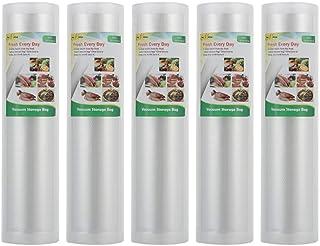 comprar comparacion Pack de 5 rouleaux pour appareil de mise sous vide Sacs sous vide alimentaire pour Appareil de Mise Sous Vide romars Sacs ...