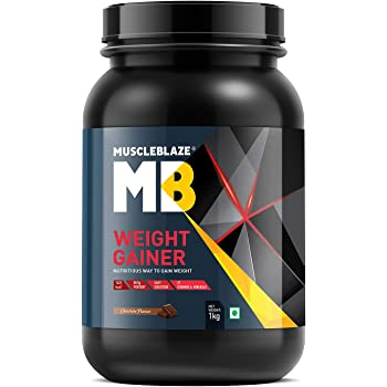 MuscleBlaze Weight Gainer (Chocolate, 1 Kg / 2.2 lb)