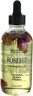 Measurable Difference Rose-Hip Hydrating Body Oil, 4 Fluid Ounce