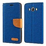 Samsung Galaxy J5 2016 Case, Oxford Leather Wallet Case