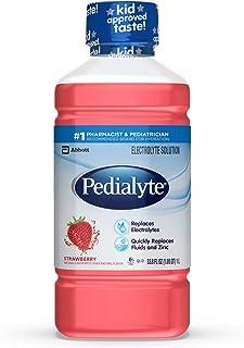 Pedialyte, Electrolyte Hydration Drink, Strawberry, 33.8 Fl Oz