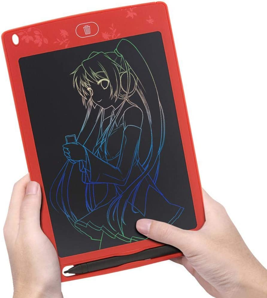 GoodKE Reusable Color LCD Drawing Pad Electronic Blackboard Writing Tablet Kids Gifts Graphics Tablets
