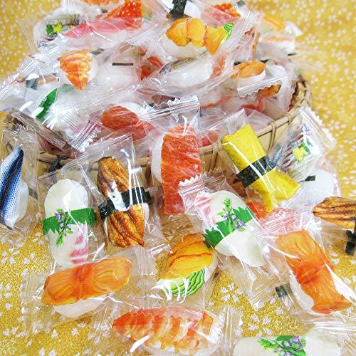 1ケース販売「 業務用 寿司 飴 1ケース(500g入×10袋)」  飴 キャンディ お特用 大袋 入り 寿司 すし 日本のお土産 ホームステイ お土産 粗品 景品 駄菓子 大量 海外出張 外国人 向け お土産 海外旅行 お菓子 個包装