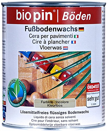 Biopin Fußbodenwachs-farblos-0,75 l