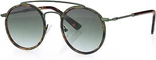 Retro Fashion Sunglasses For Men Women, Metal Frame Flat Coating Lens, FDA Standard UV400