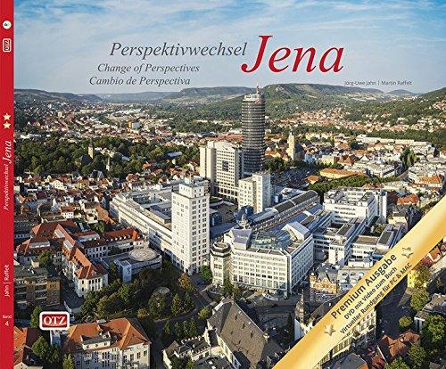 DVD: Perspektivwechsel Jena - Change of perspectives Jena - Cambio de perspectiva Jena: Ein Spaziergang über den Dächern der Stadt - A stroll above ... city - Un paseo por los tejados de la ciudad