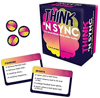 """Gamewright 1108D Think 'N Sync - The Great Minds Think Alike Card Game 5"""""""