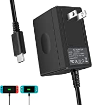 Switch Charger for Nintendo Switch & Lite, Nolansend AC Adapter Charger for Nintendo Switch 5V 3A Fast charger for Switch Dock, Switch Pro Controller and Switch Lite