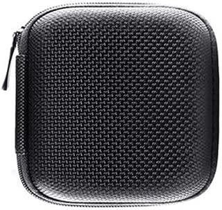 LGFSM Headphone Organizer, Mini Portable Bluetooth Headset Bag, Digital Artifact Protector (Color : Black, Size : A)