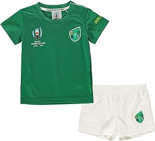 Ireland Rugby World Cup 2019 Team 2 Piece Baby Kit Green Fan Top Tee Shirt