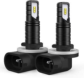AUXITO 881 LED Fog Light Bulb 886 894 896 LED Bulbs 1:1 Halogen Bulb Design Replacement for Fog Light or DRL, 6000K Cool White (Pack of 2)