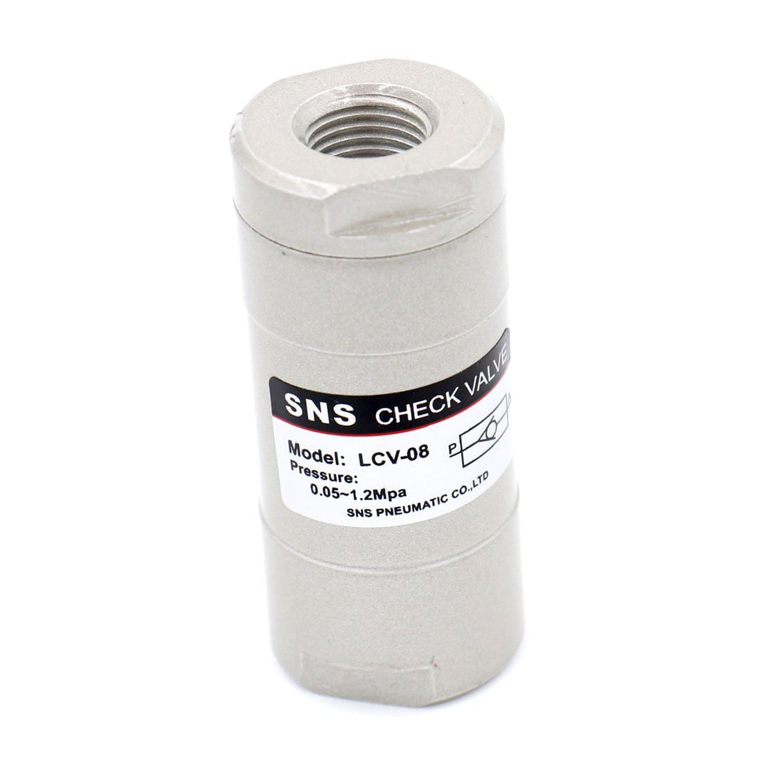 Sale Baomain Check Valve LCV-08 1 4 Air inch Pneumatic Port Way One Over item handling