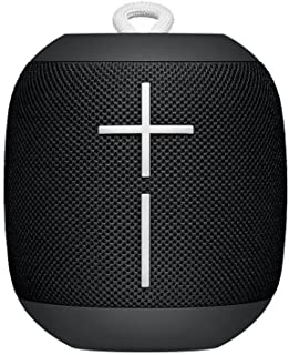 Logitech Ultimate Ears WONDERBOOM Super Portable Waterproof Bluetooth Speaker - Phantom Black(Renewed)
