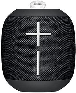 Logitech Ultimate Ears WONDERBOOM Super Portable Waterproof Bluetooth Speaker - Phantom Black(Certified Refurbished)