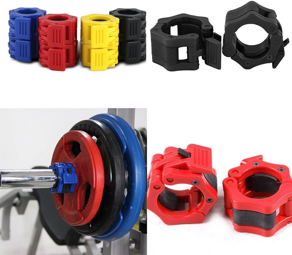 Palestra Sollevamento Pesi Fitness Dumbbell Morsetto Fibbia Tyrrdtrd 50 mm Bilanciere Collare Clip di Blocco