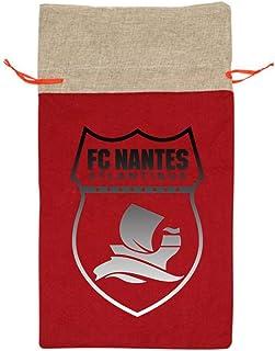 OUJUHG1 FC Nantes France Soccer Shirt Football Our Warm Red Christmas Holiday Theme Gift Bag 13