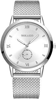 Womens Mens Watches Clearance Sale,Hengshikeji Analog Quartz Wrist Watches High Hardness Glass Mirror Faux