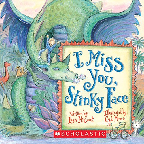 I Miss You, Stinky Face audiobook cover art