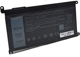 WDX0R 42WH Laptop Battery for Dell Inspiron 15 5565 5567 5568 5578 7560 7570 7579 7569 P58F,13 5368 5378 7368 7378,17 5765 5767 5770,14 5468 5480 7460,5000 7000 Series,Fits for FC92N 3CRH3 T2JX4 CYMGM