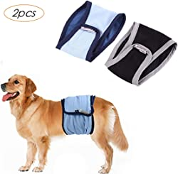 LEMON PET Male Dog Diapers Belly Band Wraps Nappies Binding Pants Comfortable Washable Physiological Sanitary Pants Nappy