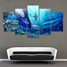 5 canvas paintings Canvas Print Pcs Best Stylish Classic Cartoon Poster Oil Picture Wall Art Home Decor For Baby Room YYDXDB-20x35 20x45 20x55cm