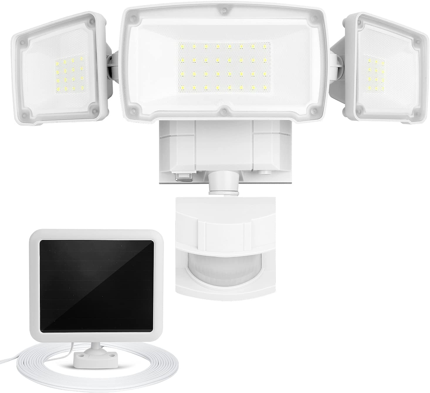 2200LM 6500K gift Solar Flood Lights with Outdoor gelp Motion Minneapolis Mall Sensor
