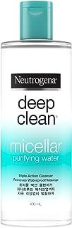 Neutrogena Deep Clean Purifying Micellar Cleansing Water, 400ml