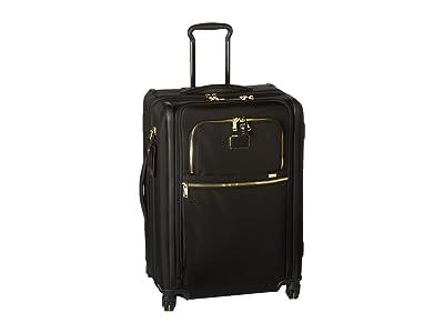 Tumi Alpha 3 Short Trip Expandable 4 Wheeled Packing Case (Black/Gold) Luggage